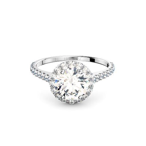 round oval diamond halo engagement ring sydney diamond company
