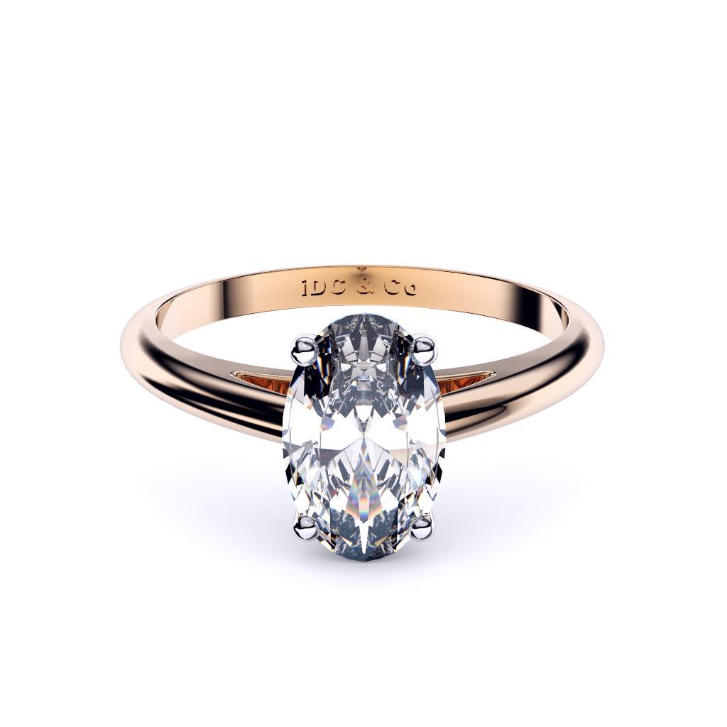 Unique Oval Engagement Rings Sydney Diamond Company